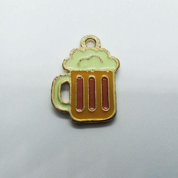 Extra függő charm ital alkohol sör sörös korsó