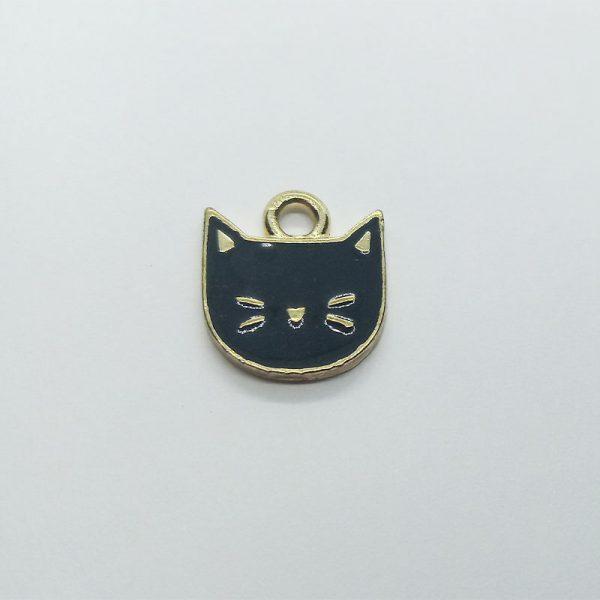 Extra függő állatok fekete cica fej