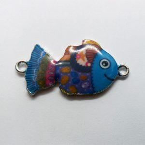 Extra függő charm fityegő állat hal színes halacska