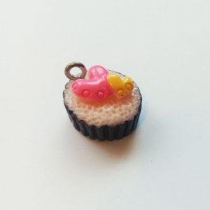 Extra függő étel édesség cupcake charm