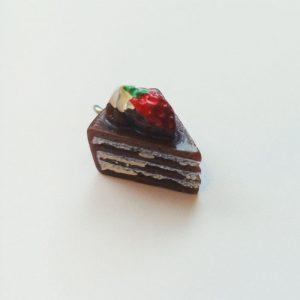 Extra függő charm étel édesség csoki csokitorta