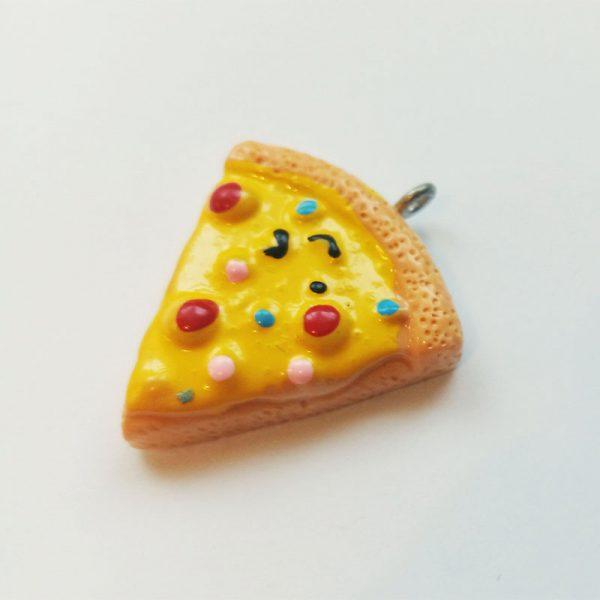 Extra függő étel édesség pizza szelet charm