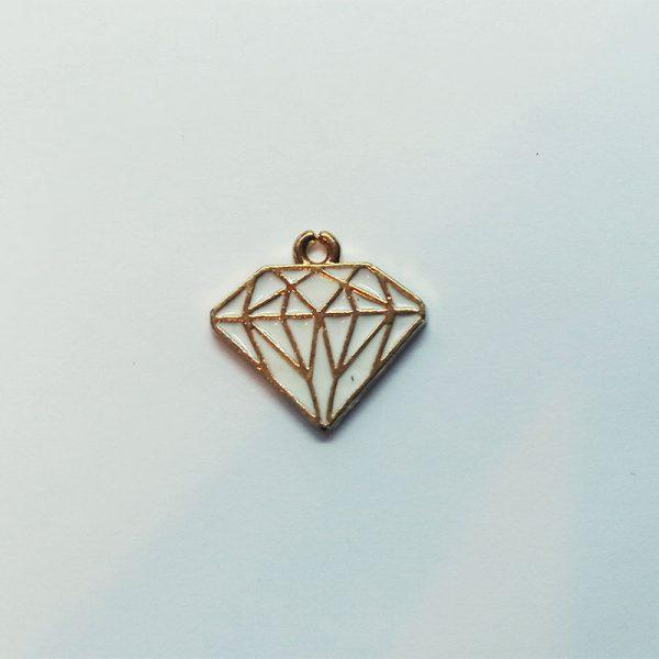 Extra függő charm fityegő gyémánt ékszer