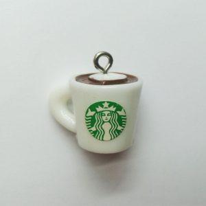 Extra függő ital kávé charm Starbucks bögre