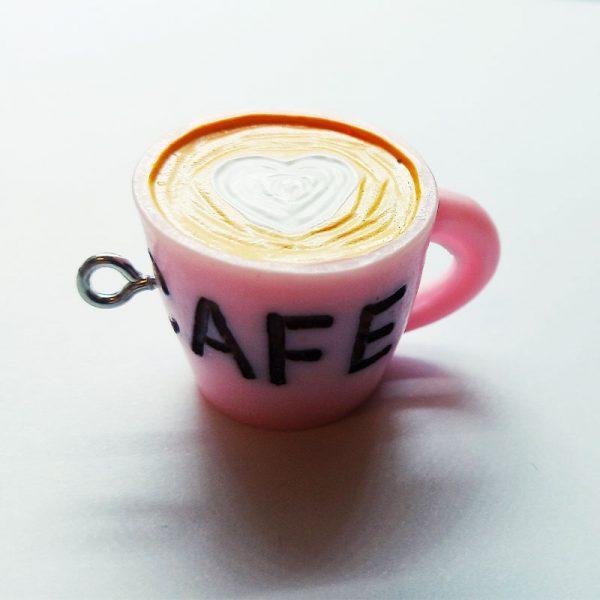 Extra függő charm ital kávé cafe
