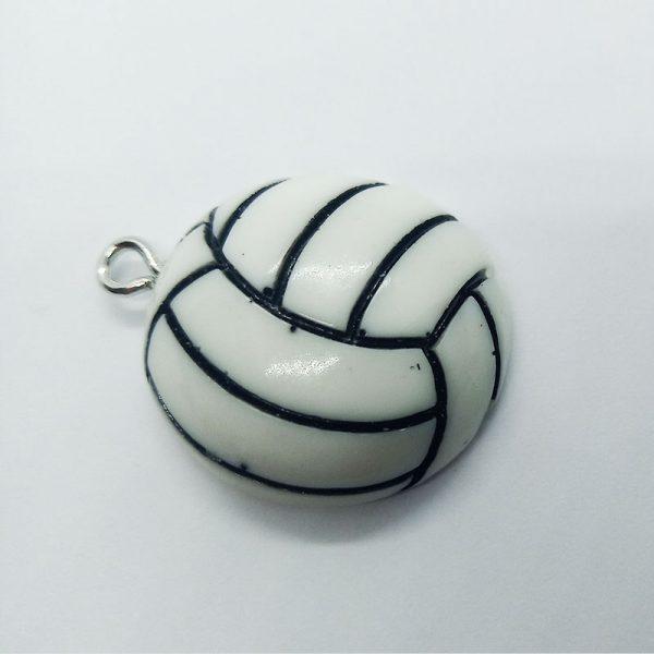 Extra függő röplabda sport charm fityegő
