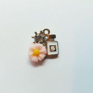 Extra függő smink parfüm virággal Chanel nr 5 charm fityegő