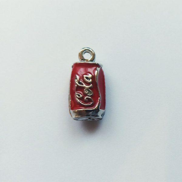 Extra függő ital üdítő dobozos kóla Coca Cola charm