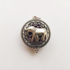 Aromaterápiás illatos függő charm fityegő illóolaj elefánt