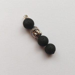 Extra függő charm ásvány sor Buddha spirituális jóga meditálás