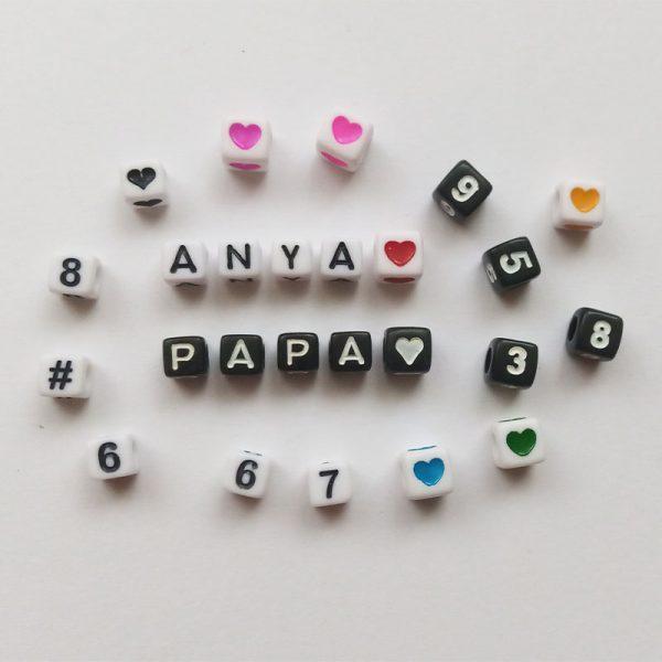 betűk szavak számok szívek