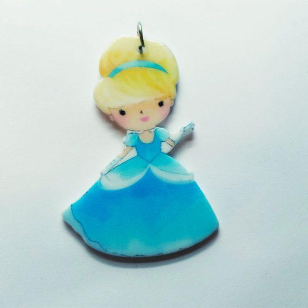 Extra függő Disney hercegnő Hamupipőke fityegő charm