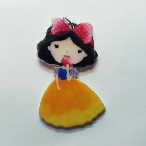 Extra függő Disney hercegnő Hófehérke charm fityegő
