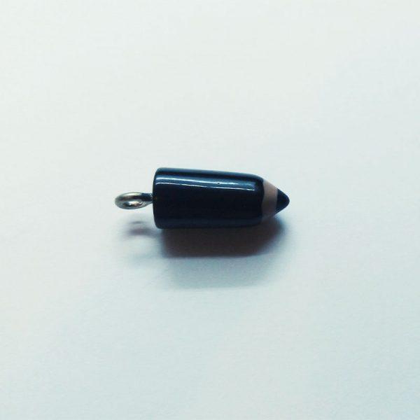 Extra függő charm fityegő színes ceruza fekete