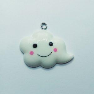 Extra függő felhő charm fityegő