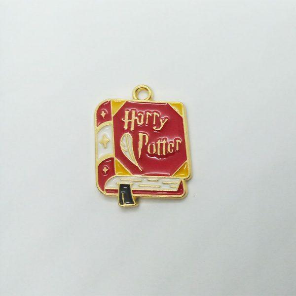 Extra függő Harry Potter könyv charm varázsló fityegő