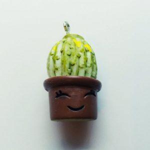 Extra függő kaktusz charm fityegő