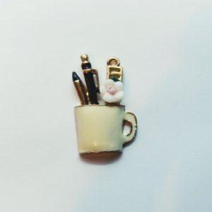 Extra függő charm fityegő iskola tolltartó tanulás suli
