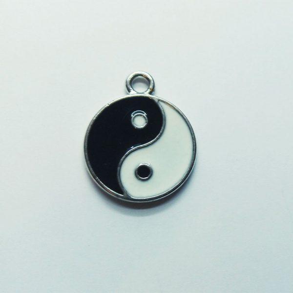 Extra függő yin yang, jin jang spirituális charm fityegő