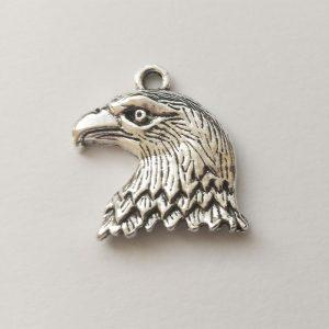 Fém függő charm fityegő madár sas ezüst