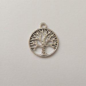 Fém függő charm fityegő életfa család jóga meditálás spirituális gyönngyel