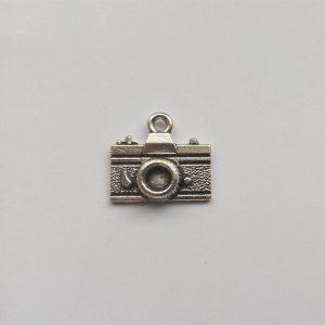 Fém függő charm fityegő ezüst színű fényképező fotó fotózás