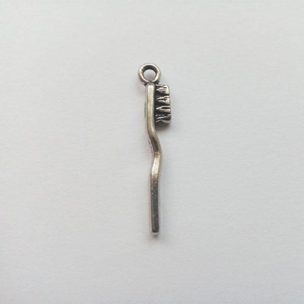 Fém függő charm fityegő orvos doktor fogorvos fogkefe