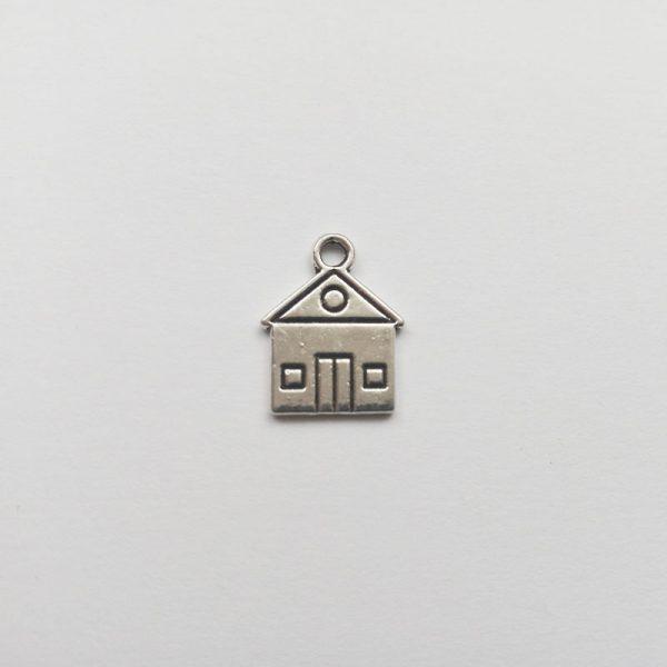 Fém függő szerszám ezüst színű charm fityegő ezermester barkácsolás szerelő barkácsolás család ház