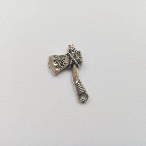 Fém függő szerszám ezüst színű charm fityegő ezermester barkácsolás szerelő barkácsolás balta