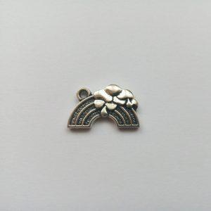 Fém függő charm fityegő szivárvány