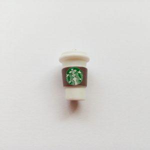 Extra függő charm fityegő kávé coffee cafe starbucks pohár