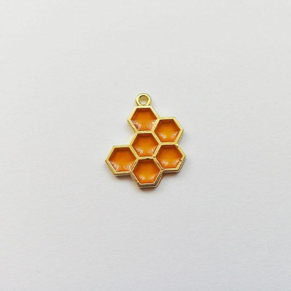 Extra függő charm fityegő méz méh kaptár méhkaptár méhecske