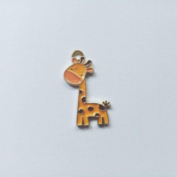 Extra függő állat zsiráf charm fityegő