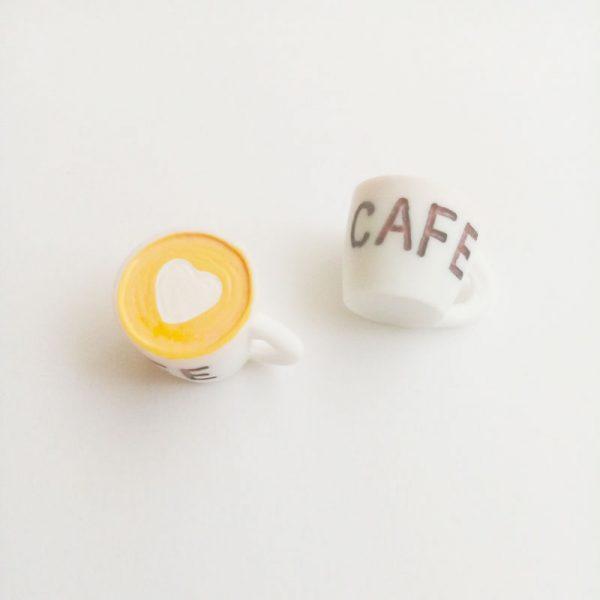 Extra függő charm fityegő kávé cappucino latte macchiato café coffee