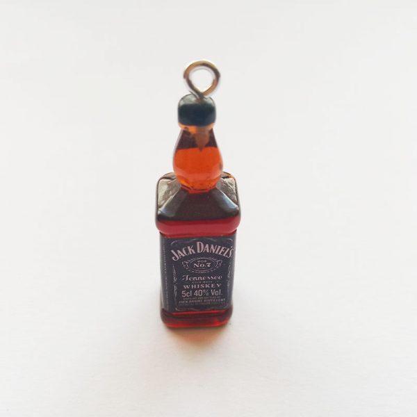 Extra függő ital alkohol whiskey charm üveg charm fityegő
